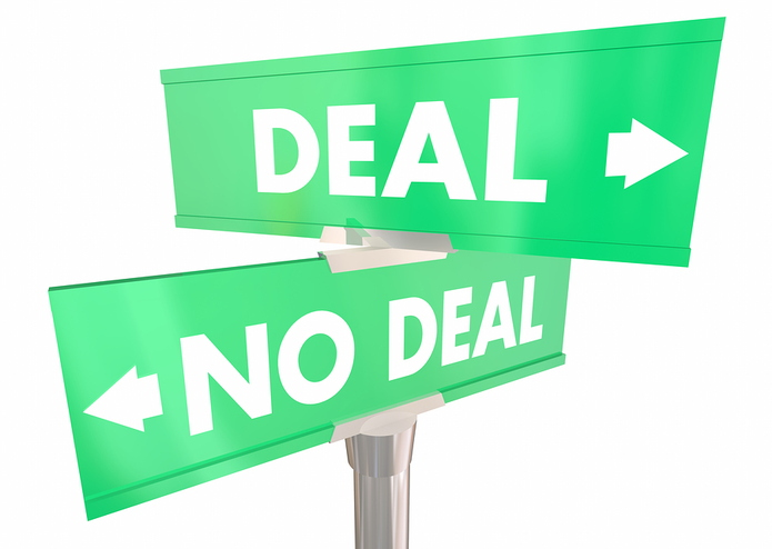 Deal or No Deal Sign
