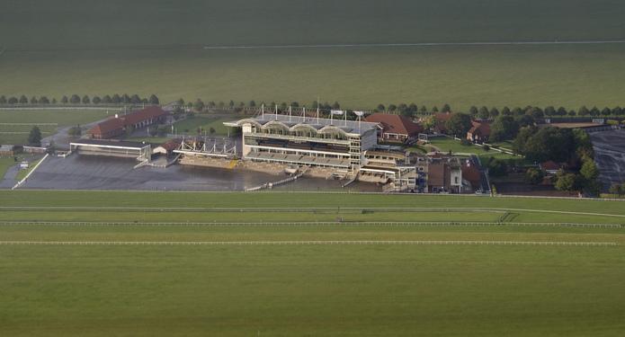Newmarket Racecourse Aerial Shot