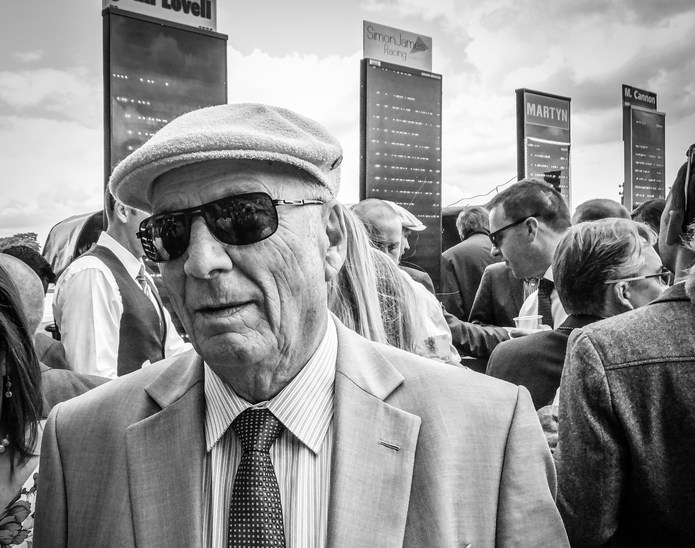 Old Man In Betting Ring