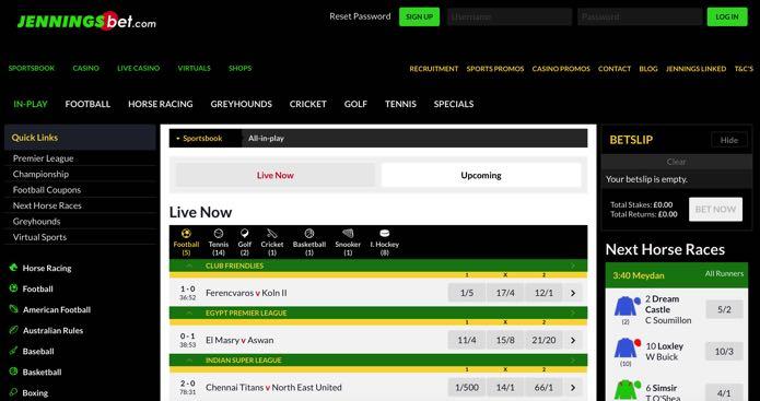 Jennings bet free betting wiki betting terms odds